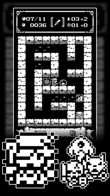1-Bit Rogue: A dungeon crawler RPG!