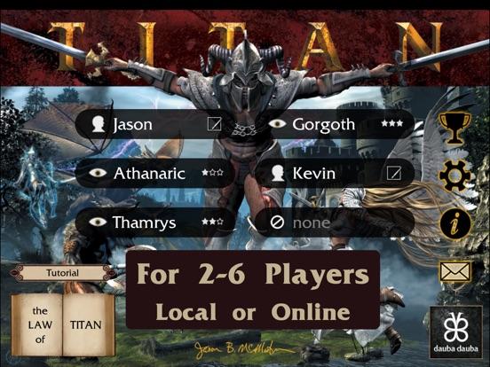Titan HD на iPad