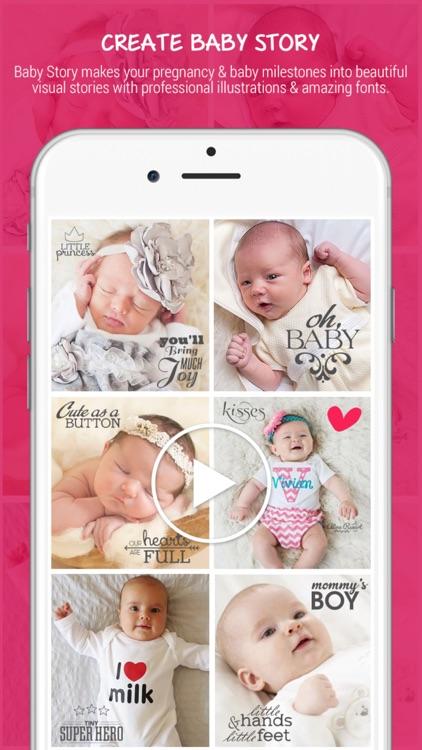 Baby Photo Editor - Baby Pregnancy Milestones Pics