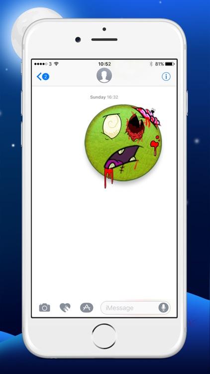 Zombie Yourself - Spooky Emoji Stickers screenshot-4