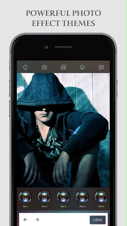 Analog Camera 7 Pro for iMessage screenshot-4