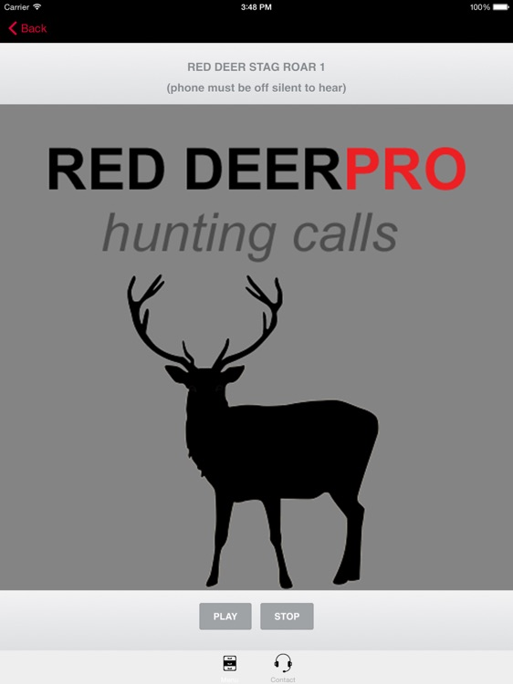 REAL Red Deer Calls & Red Deer Sounds for Hunting -- BLUETOOTH COMPATIBLE