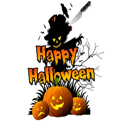 HD Halloween Stickers app logo