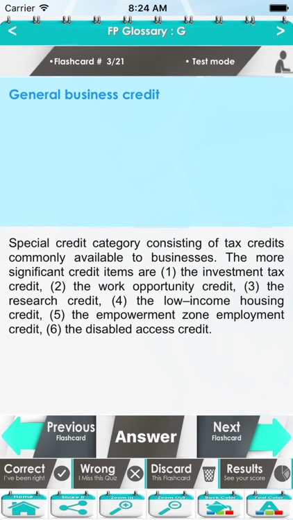Financial Planning Glossary 1300 Flashcards Study Notes screenshot-3