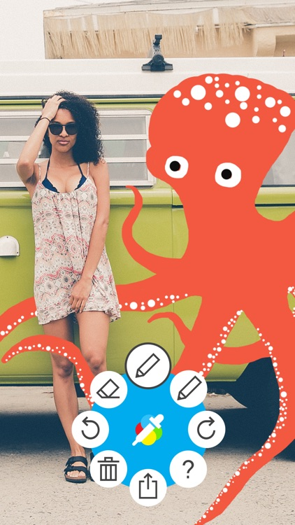 Atom Draw: Easily Draw On Pictures & Photos
