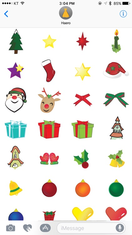 haero Xmas Stickers screenshot-2