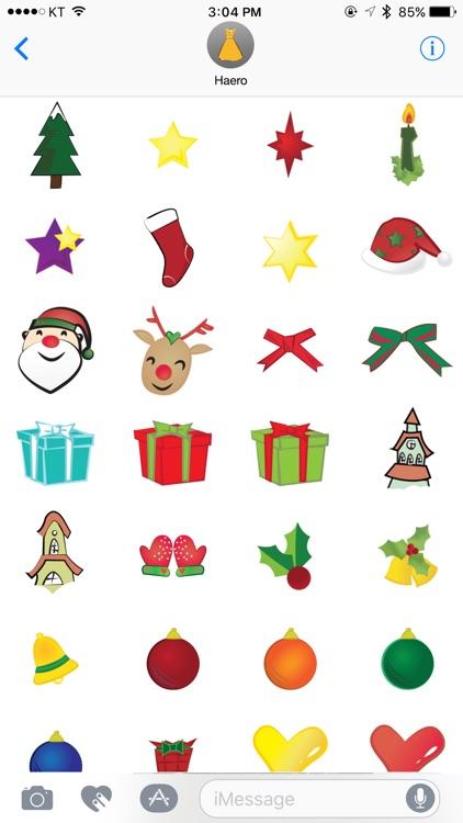 haero Xmas Stickers