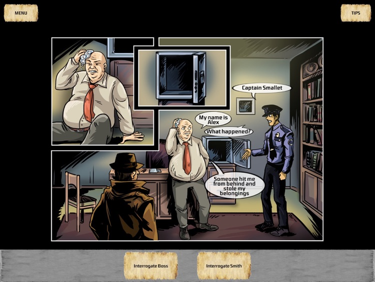 Crime Story - Interactive comics screenshot-3