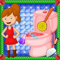 Activities of Bathroom Cleaning Girl - Cleanup & Washing Game