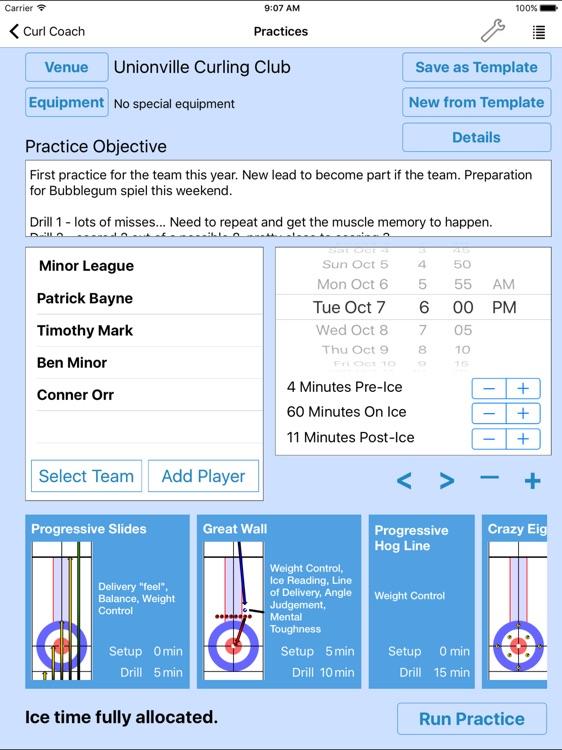 Curl Coach - Coach Beyond Statistics screenshot-4