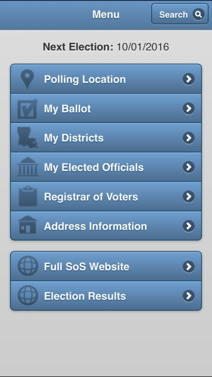 GeauxVote Mobile screenshot-1