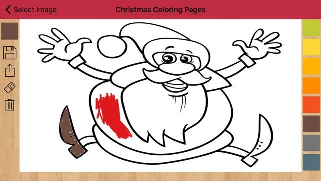 Weihnachtsbilder zum Anmalen im App Store