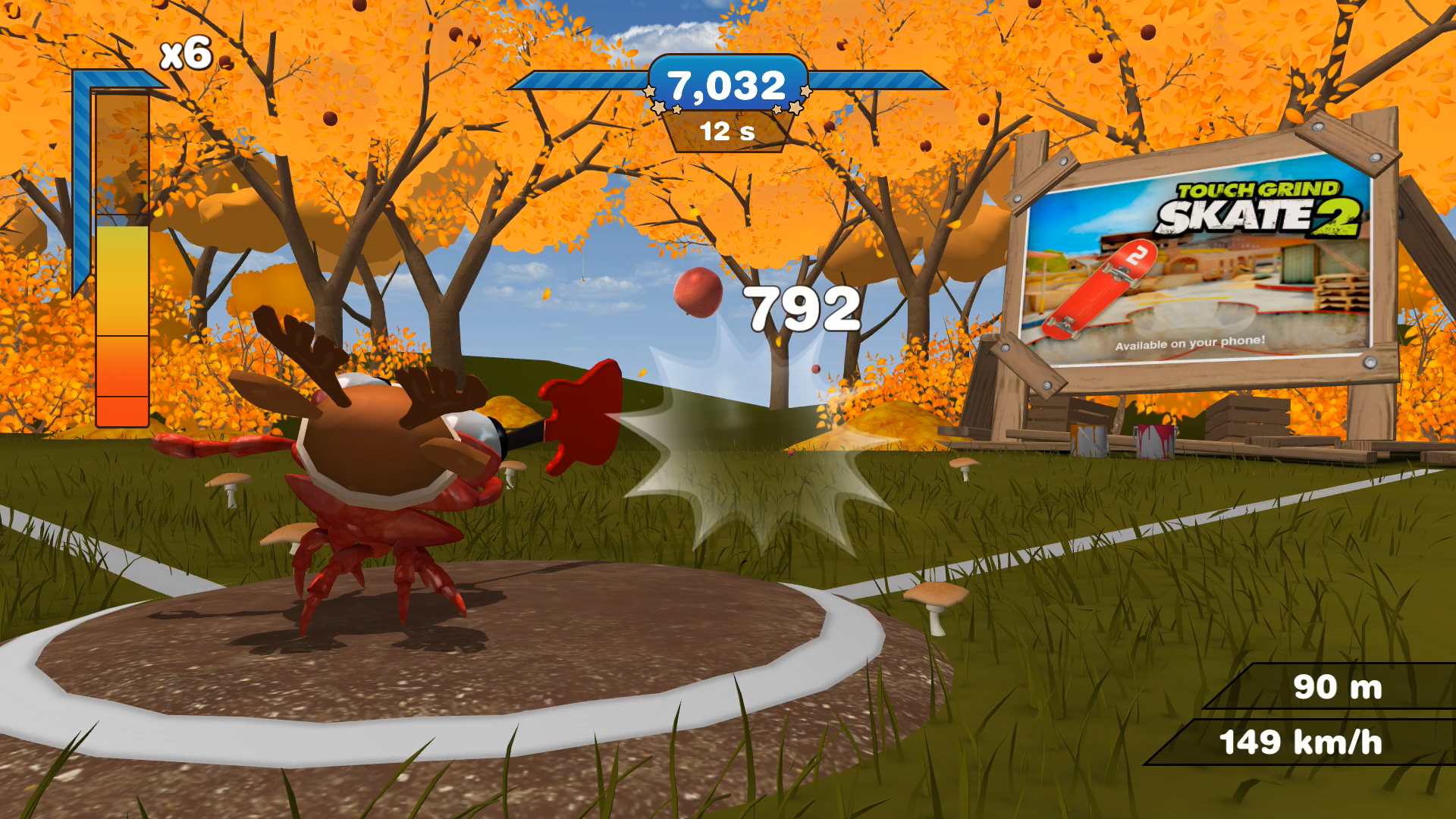 Mr. Crab Baseball screenshot 3
