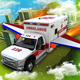 Flying Air Ambulance : 3D Flight Simulator