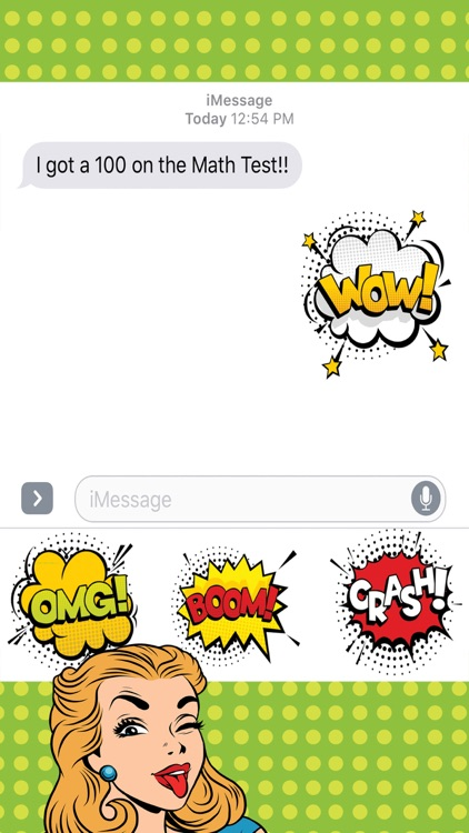 Pop Art Stickers for iMessage