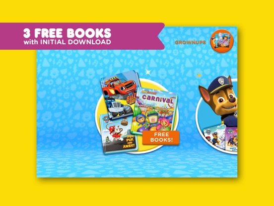 Nick Jr  Books – Read Interactive eBooks for Kids | App Price Drops