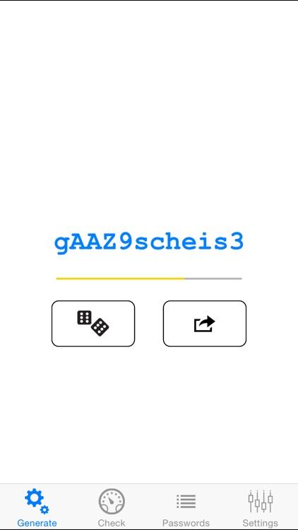 PassGen - Simple Passwords