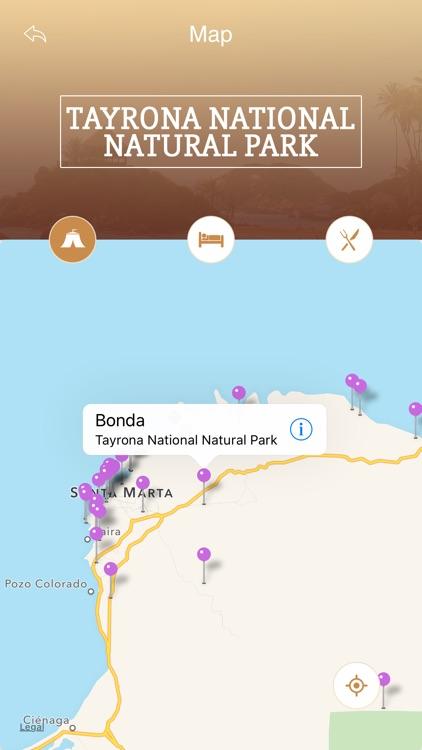 Tayrona National Natural Park Tourism Guide screenshot-3