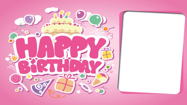 Birthday Frames & Happy Birthday Cards Wallpaper By Janice Ong