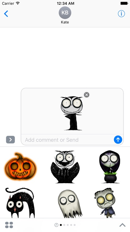 Spooky Halloween Family Stickers