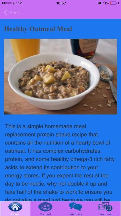 Healthy Oatmeal Recipes screenshot-4