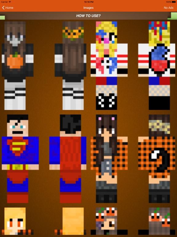 Супергерои Skins For Minecraft Pocket Edition & PC для iPad