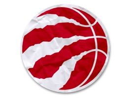 Toronto Raptors fans, the official Raptors stickers are here