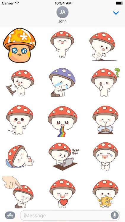 Mushroom Cute -  Fc Sticker