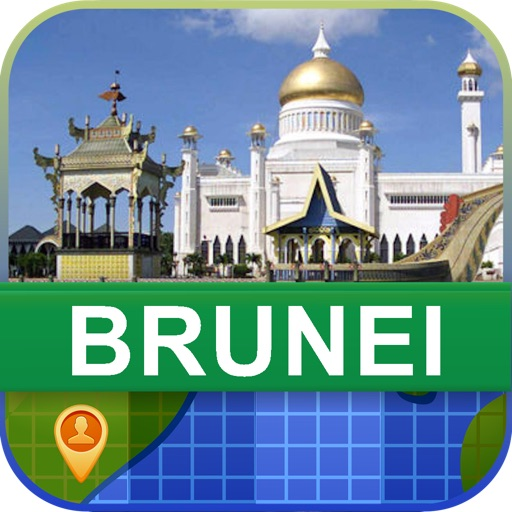 Offline Brunei Map - World Offline Maps icon