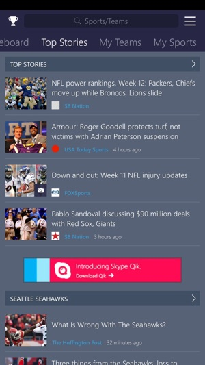 MSN Sports on the App Store
