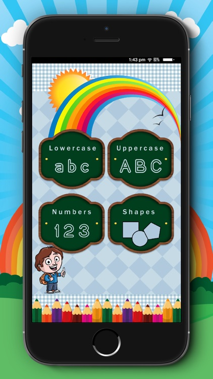 ABC Tracer - 123 Number, Shapes tracing & Drawing