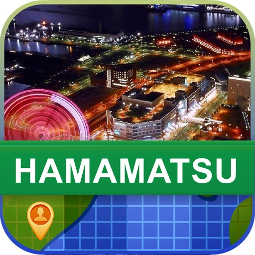 Offline Hamamatsu, Japan Map - World Offline Maps