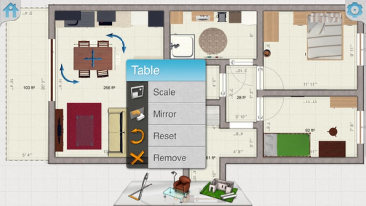 Interior Plan : 2D Home Design & Floor Plan screenshot-4