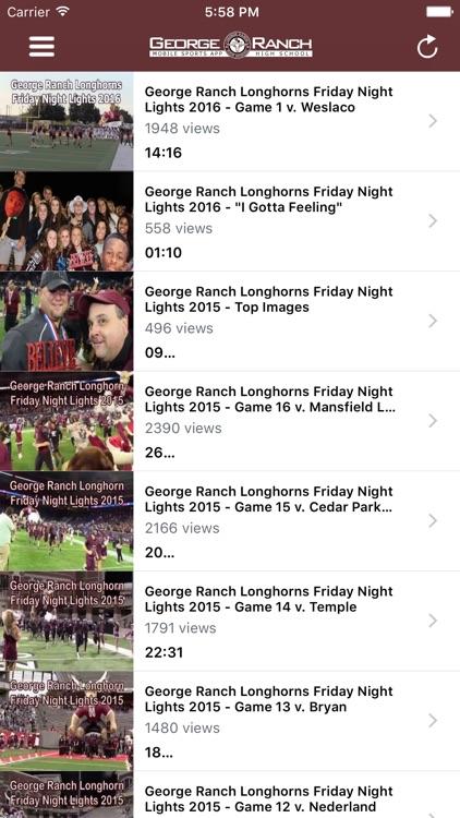 George Ranch Longhorns Athletics screenshot-4