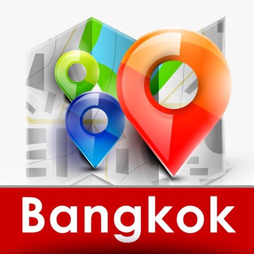 Bangkok & Thailand travel guide and city map by Gil Fibi shtra