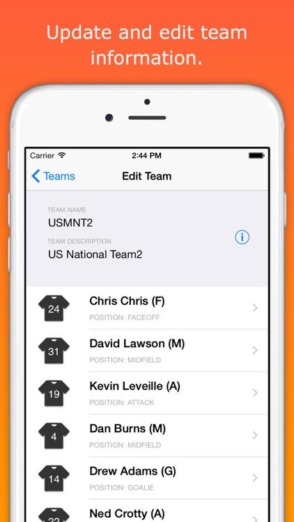 LAXStats - Lacrosse live scoring & team stats screenshot-4