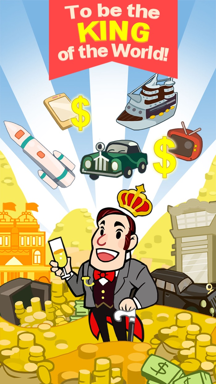 Richman Adventure - Idle Clicker Games of Money Screenshot