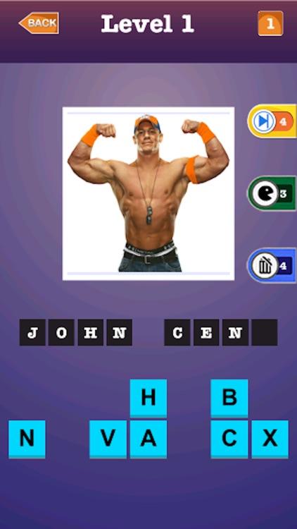 Wrestling Super Stars Trivia Quiz - Guess The Name