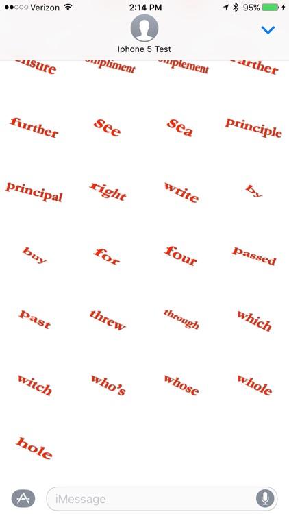 Spell Check - Sticker Pack screenshot-4