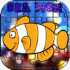 Sea Fish Aquarium Game Jigsaw Puzzles for Toddler