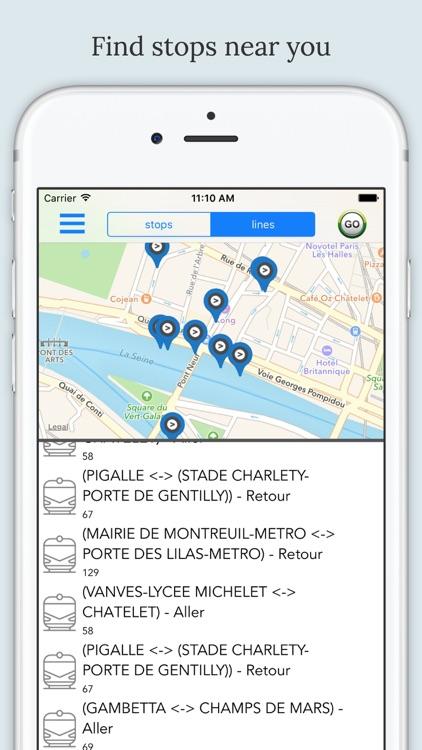 Paris Public Transport screenshot-3