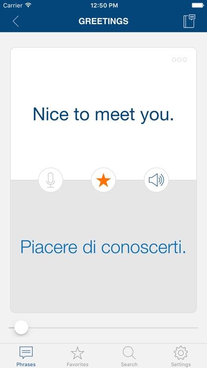 Learn Italian Phrases & Words