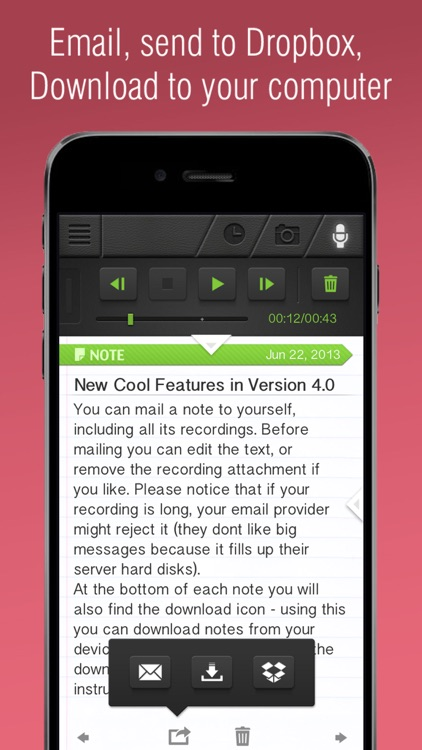 Notes: Supernote Recorder, Notes, Photos Notepad screenshot-4