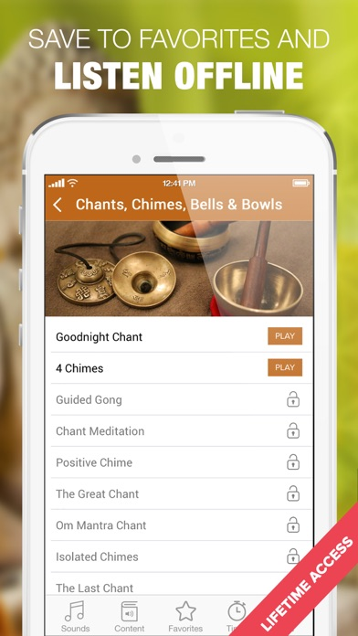 Meditation Bell, Bowls, Chants screenshot four