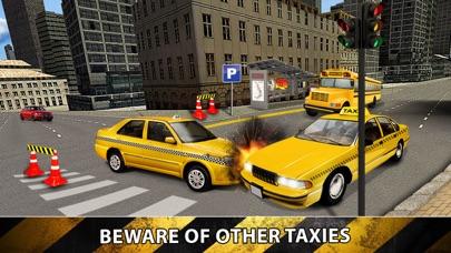 市タクシードライバーシム2016 - ラスベガス実際のトラフィックでイエローキャブ駐車場マニアのおすすめ画像2
