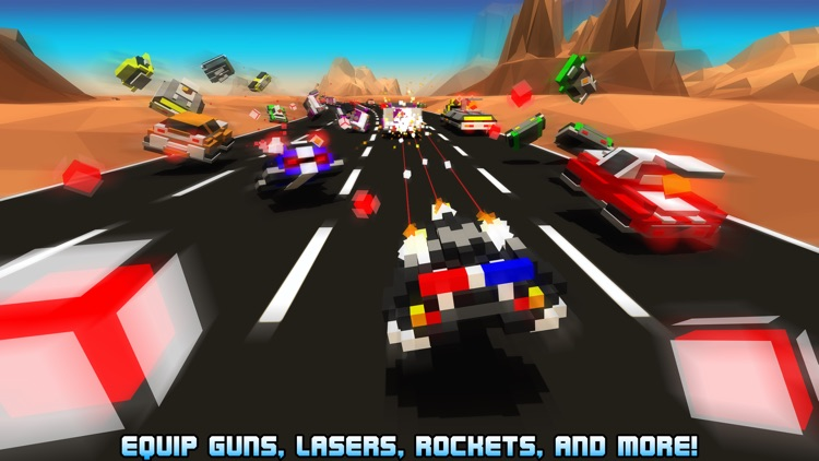Hovercraft: Takedown - Custom Combat Cars screenshot-3