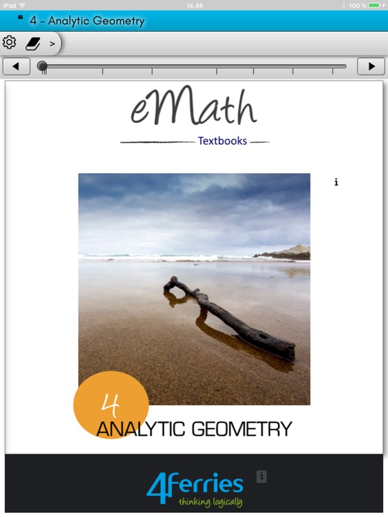 eMath4: Analytic Geometry screenshot-0