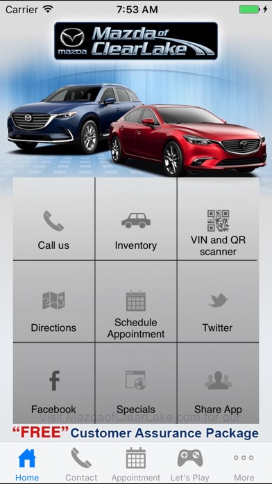 Mazda Of Clear Lake By The Local Search Group, LLC (iOS, United States)    SearchMan App Data U0026 Information