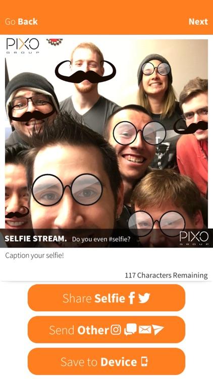 PIXO Selfie App! screenshot-3