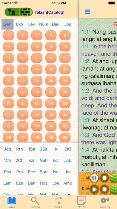 Filipino Audio Holy Bible Offline Scriptures for Pc - Download free